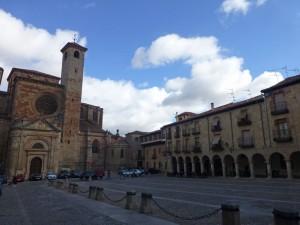 Plaza Mayor, escenario principal de las Jornadas Medievales