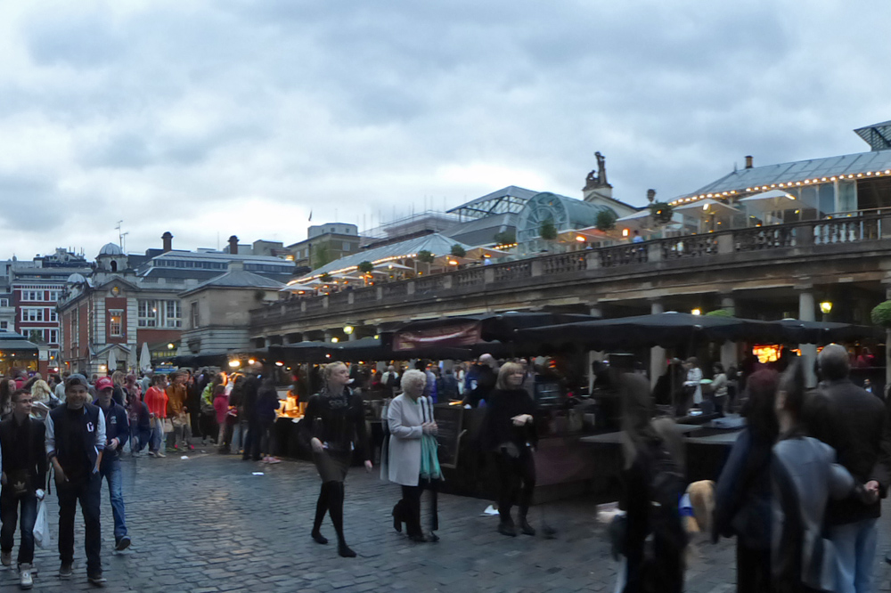 Covent Garden, uno de los más famosos barrios de Londres