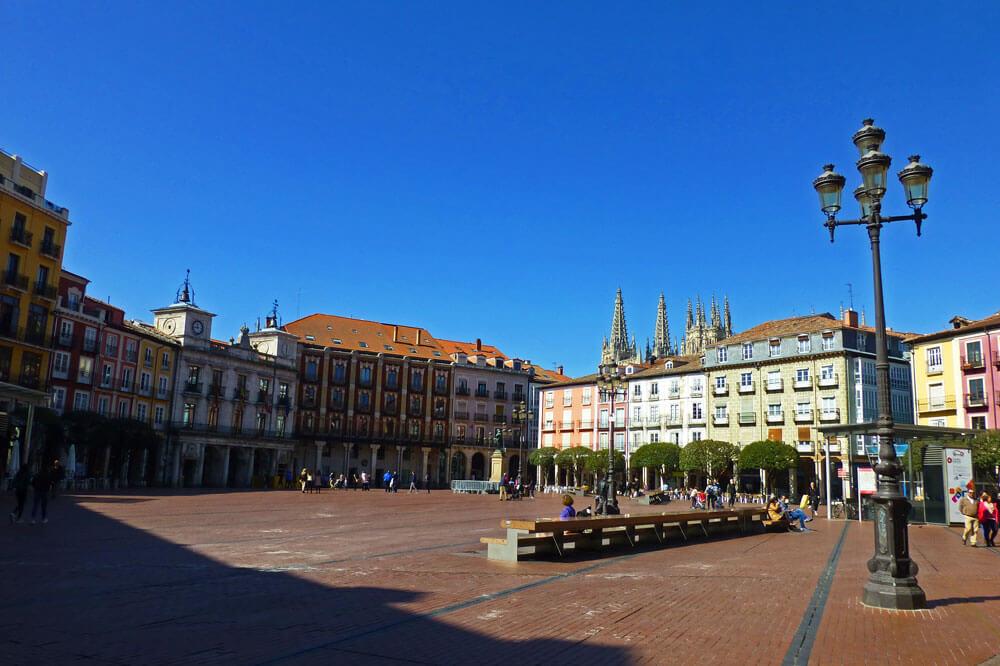 Plazas, paseos y calles de Burgos
