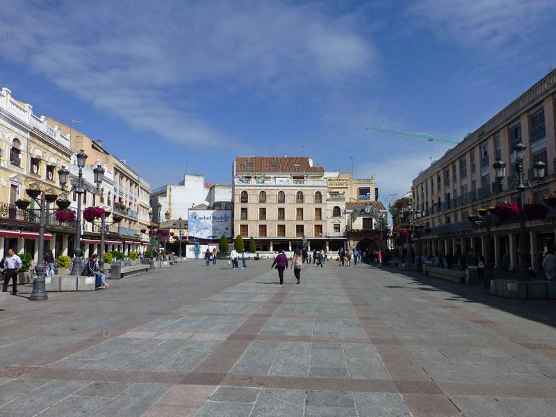 Plaza Mayor, historia de Ciudad Real