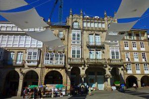 Plaza Mayor, la más importante de las plazas y jardines de Orense