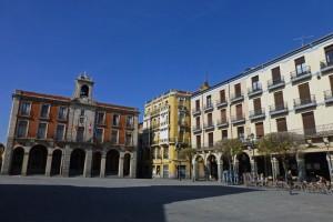 Plaza Mayor de Zamora, donde se encuentra el Ayuntamiento Viejo y Nuevo