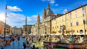 Plaza Navona, una de las más bellas plazas de Roma