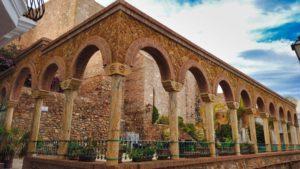 Plaza del Parterre, una de las más pintorescas de Mojácar