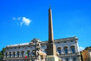 Plaza del Quirinale en Roma. Foto de Justin Ennis