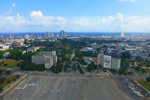 Plaza de la Revolución, la más grande de La Habana