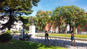 Estatua de Felipe II en la Plaza de San Pablo