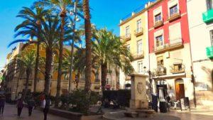 Plaza de la Santísima Faz en Alicante