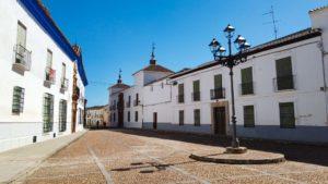 Plaza de Santo Domingo, una de las más bonitas de Almagro