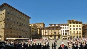 Piazza della Signoria en Florencia (Plaza de la Señoría)
