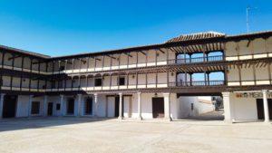 Edificios de la Plaza Mayor de Tembleque