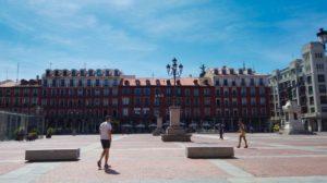 Plaza Mayor, epicentro de las fiestas de Valladolid