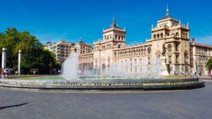 Plaza de Zorrilla, una de las más visitadas de Valladolid