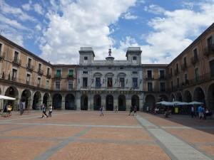 Plaza Mayor de Ávila, el centro de la vida civil, historia de Ávila