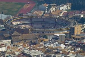 Plaza de Toros de Jaén o Coso de La Alameda, uno de los escenarios de la Feria de San Lucas