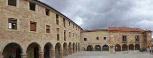 Panorámica de la Plazuela de la Cárcel de Sigüenza