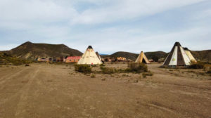 Poblado indio en Fort Bravo (Texas Hollywood)
