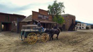 Escenario de películas western
