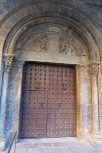 Portada sur de la Catedral de Jaca