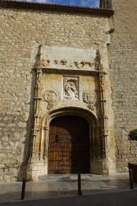 Portada de la Iglesia de la Magdalena