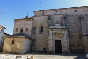 Fachada norte de la Iglesia de San Pedro y San Ildefonso, ruta del románico de Zamora