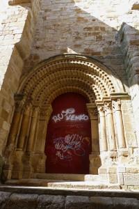 Portada románica de la Iglesia de San Ildefonso, ruta del románico de Zamora