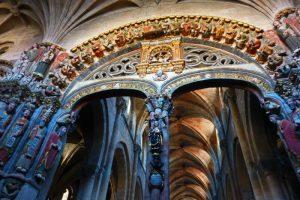 Pórtico del Paraíso, una de las obras de arte de la Catedral de Orense
