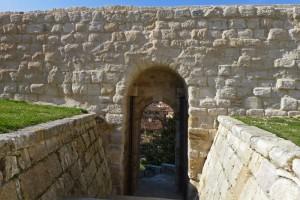 Portillo de la Traición, renombrado como Portillo de la Lealtad, en las murallas de Zamora