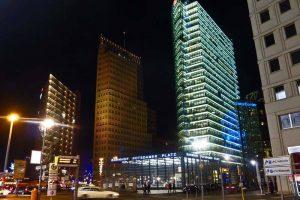 Rascacielos de Potsdamer Platz en Berlín