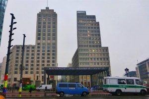 Potsdamer Platz, una de las plazas de Berlín más concurridas