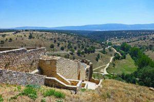 Pozo de las Hontanillas, ubicado en el lienzo de la muralla de Pedraza