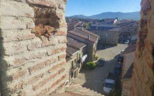 Calles de Prádena del Rincón desde el campanario de la iglesia