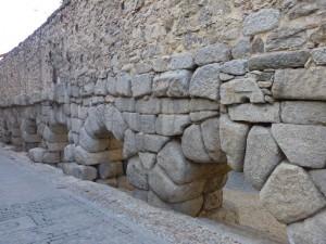 Primeros arcos del Acueducto de Segovia