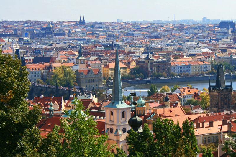 Tarjetas turísticas de Praga