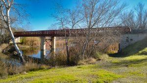 Puente de Fuentidueña sobre el río Tajo
