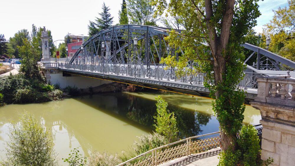 Puente de Hierro de Palencia