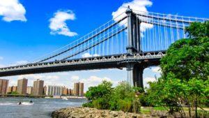 Puente de Manhattan visto desde Brooklyn