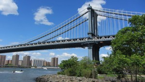 Puente de Manhattan visto desde Brooklyn