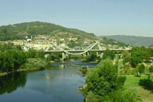 Puente del Milenio, el más moderno de los puentes de Orense