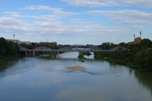 Puente del Pilar o Puente de Hierro, puentes de Zaragoza