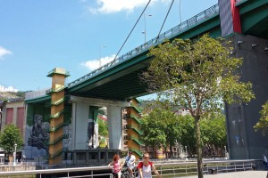 Puente Príncipes de España o Puente de la Salve, puentes de Bilbao
