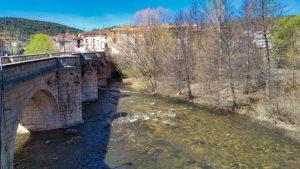 Puente de San Pablo sobre el río Arlanza