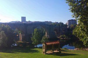 Puente Romano, el más antiguo de los puentes de Orense