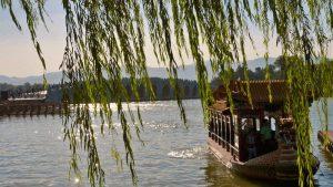 Puente de los Diecisiete Arcos en el Palacio de Verano de Pekín