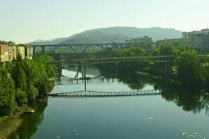 Puentes de Orense sobre el río Miño