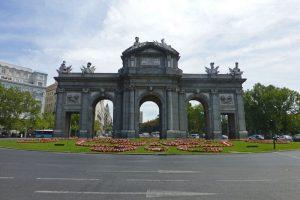 Puerta de Alcalá, uno de los monumentos más famosos de Madrid