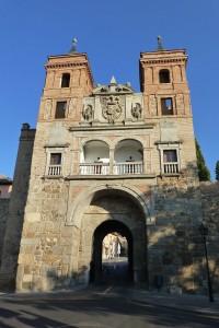 Puerta del Cambrón de día, puertas de Toledo