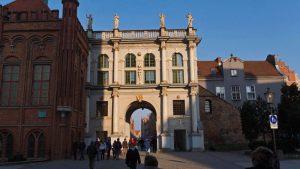 Puerta Dorada (Brama Zlota) en la Ruta Real de Gdansk