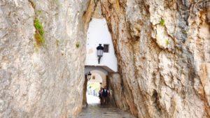 Portal de Sant Josep, único acceso al casco antiguo de Guadalest