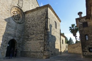 Puerta de la Luna o Puerta de San Pedro Pascual en la Catedral de Baeza